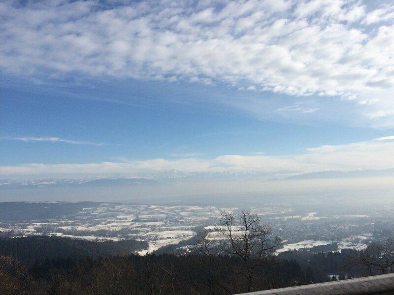 belle vue sur les Alpes