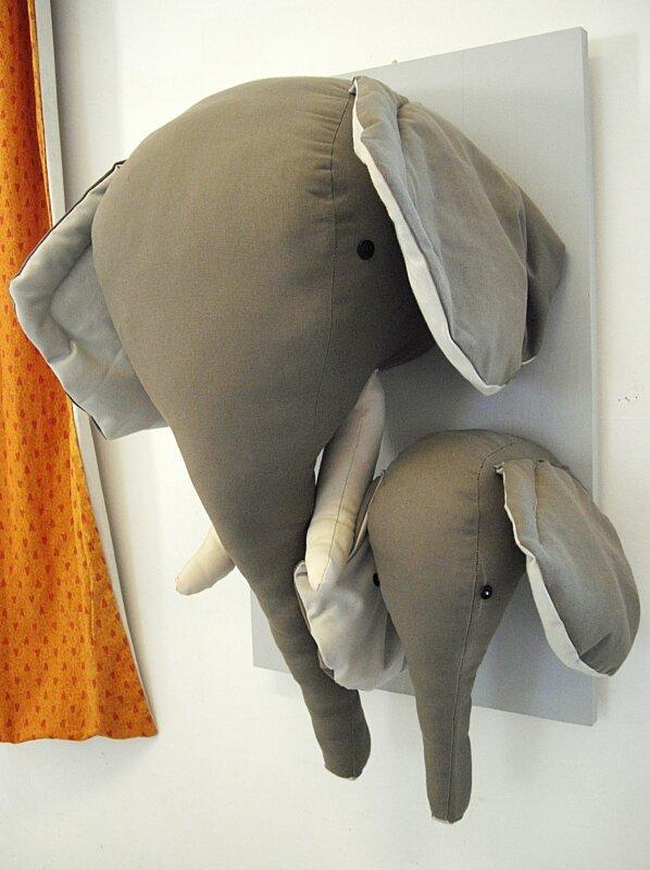 4- Trophé humoristique, les éléphants