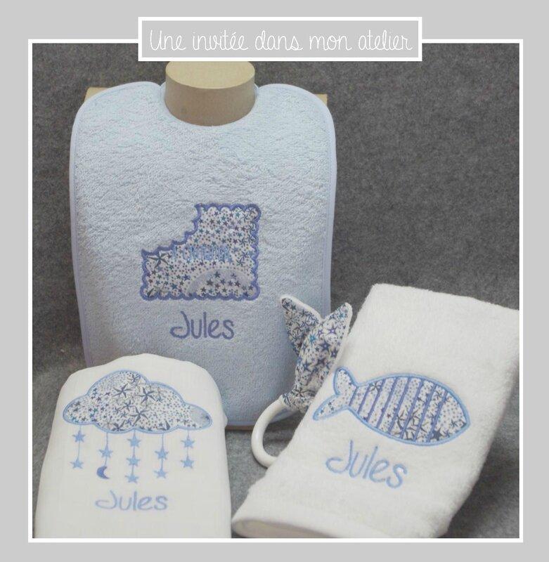 coffret naissance-cadeau de naissance-Liberty-adelajda bleu