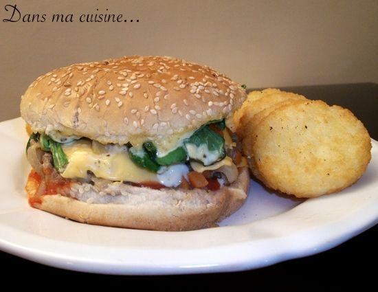 Mon Premier Burger Création Maison Dans Ma Cuisine Et