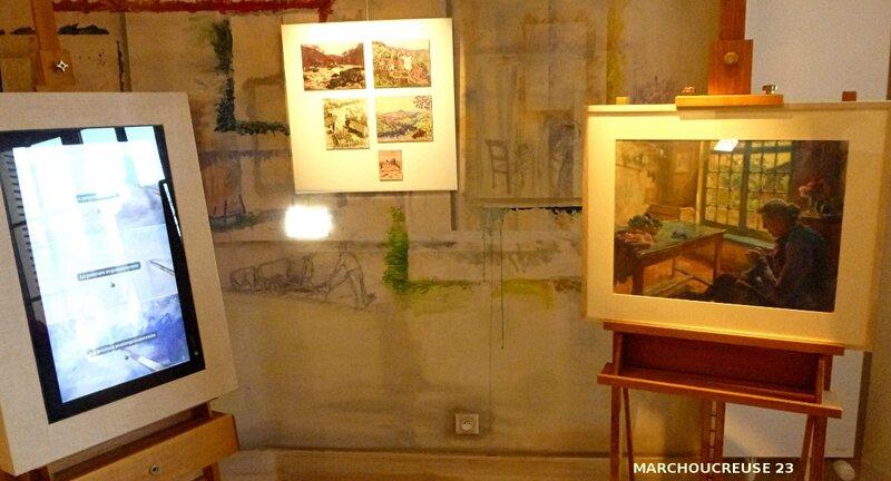 salle atelier du peintre