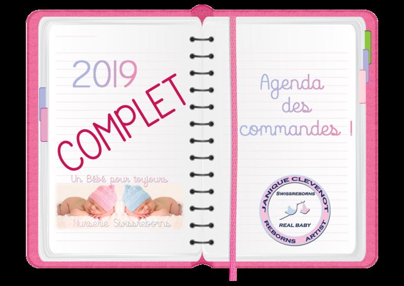 COMMANDE 2019 AGENDA