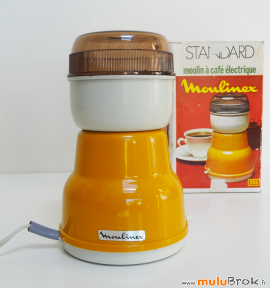 MOULINEX-Moulin-café-Orange-5-Seventies-muluBrok-Vintage