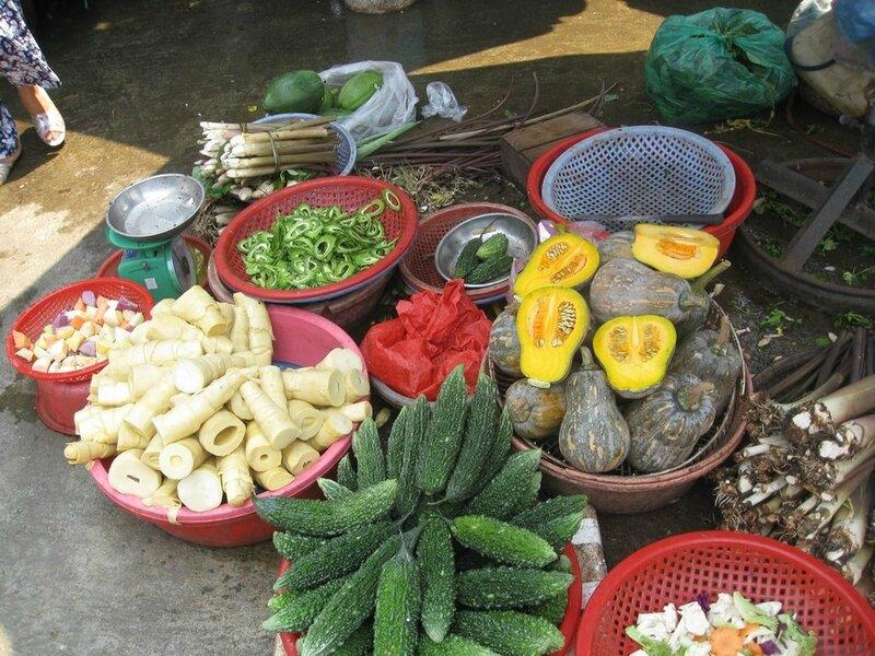 HUE, le marché Dong Ba