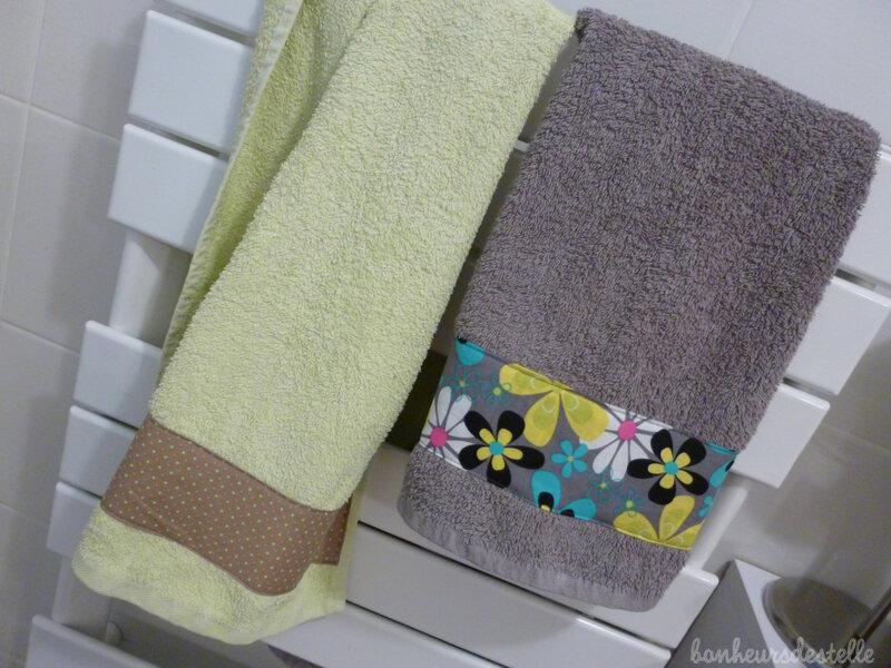 serviettes en conditions
