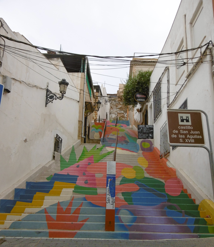 27 - escalier peint Aguilas