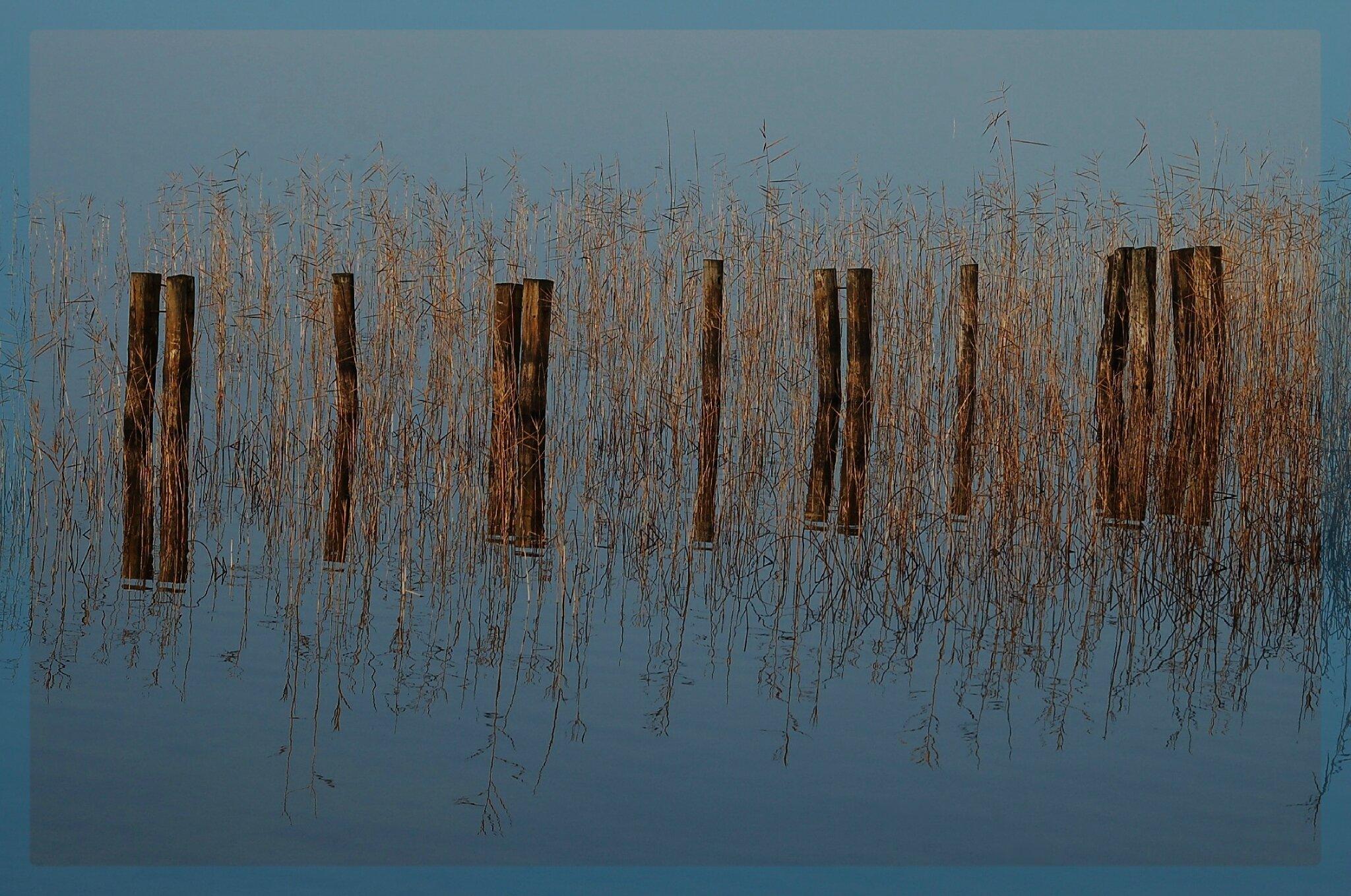 Le lac dans son miroir
