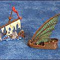 Dreadfleet - premier élément de décor peint!