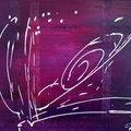 Abstrait violet i