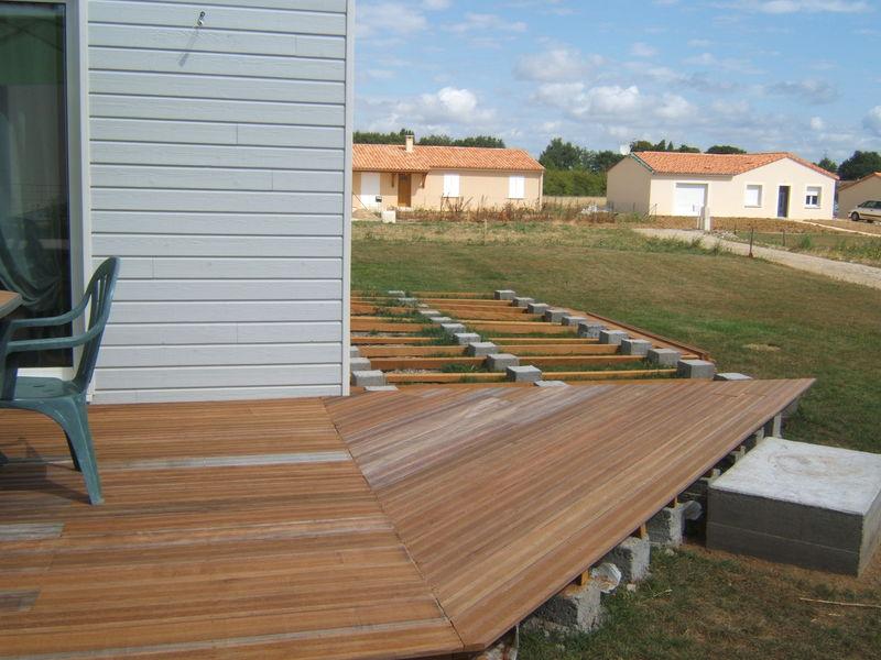 Terrasse En Bois Suite Maison Ossature Bois Deschamps Christophe