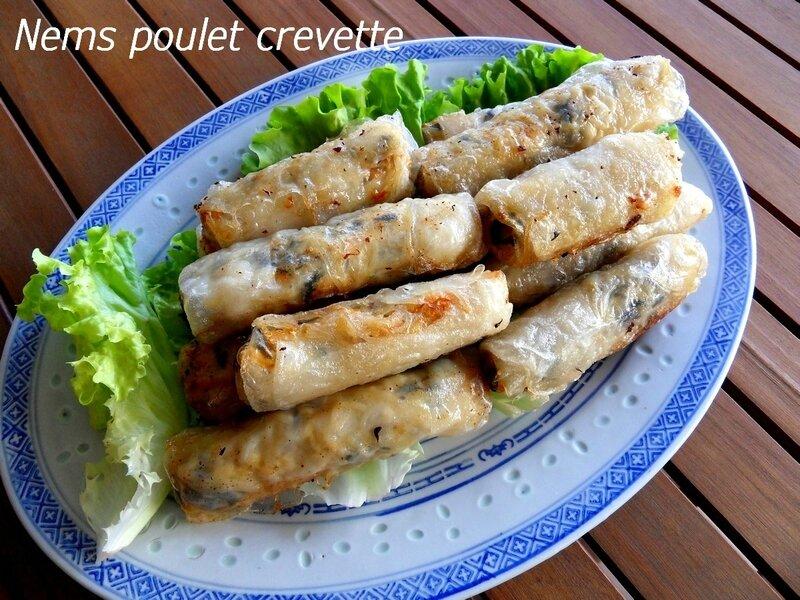 Nems poulet crevettes1