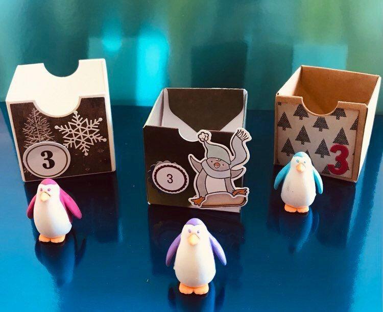 case 3 gomme pingouin