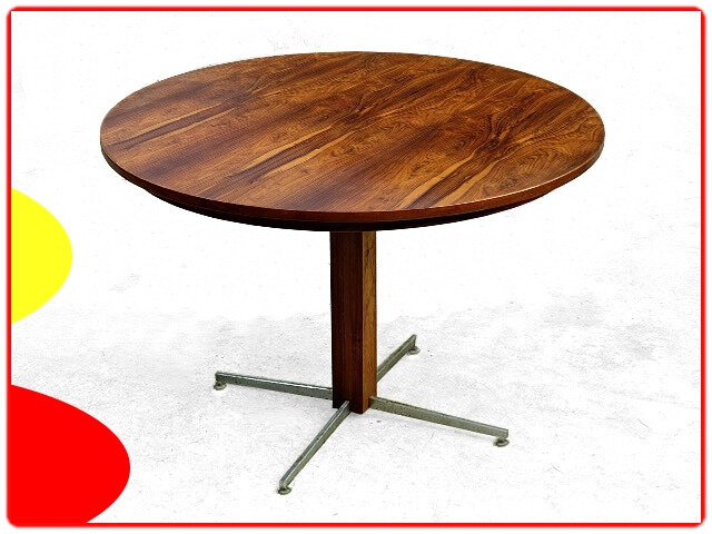 Table moderniste Jorge Zalszupin jacaranda 1960