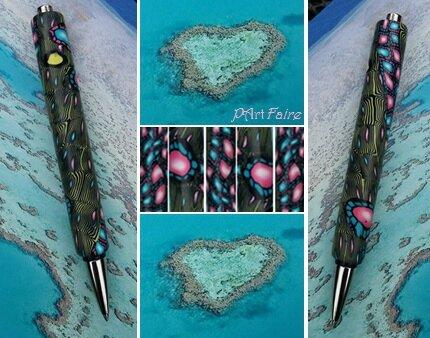 Stylo île pour deux