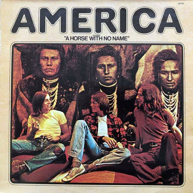 vinyle America A horse with no name