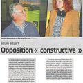 Et comment est l'opposition ?… durable !!
