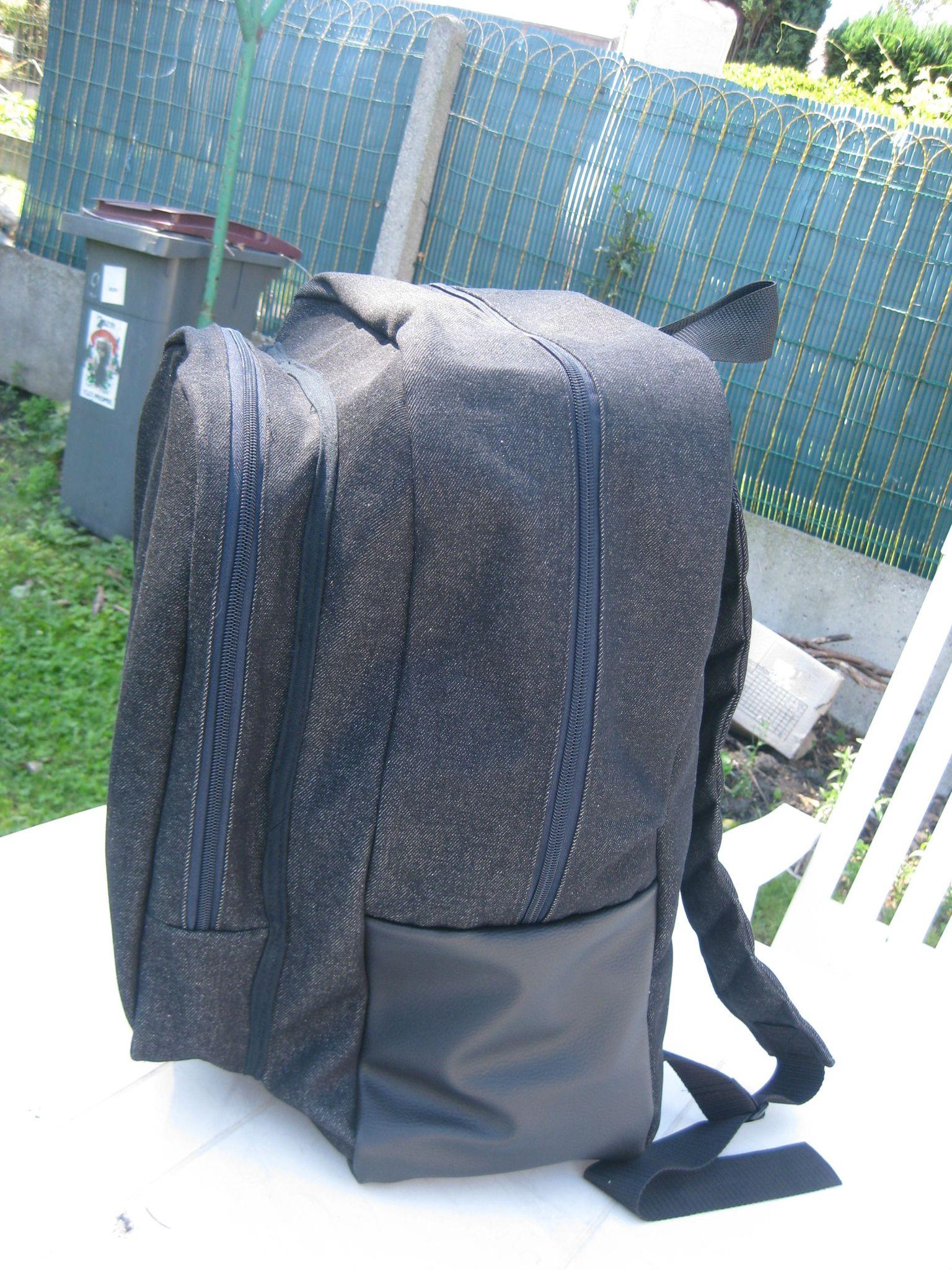 2af28f0d87 Tuto du grand sac à dos scolaire pour ado - Kajin'Kisaï
