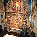 Itxassou, église, retable (64)