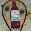 Gâteau bouteille grand cru