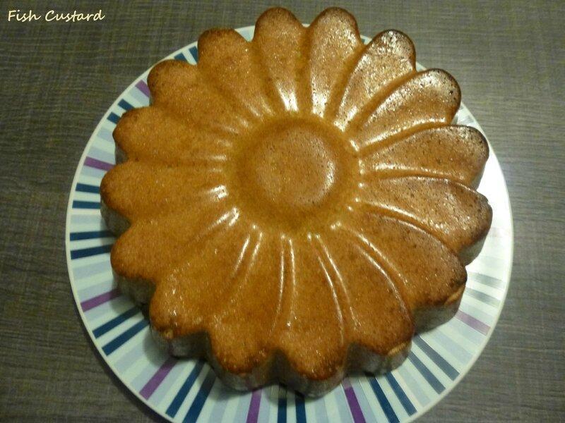Gâteau aux noisettes et amandes (10)