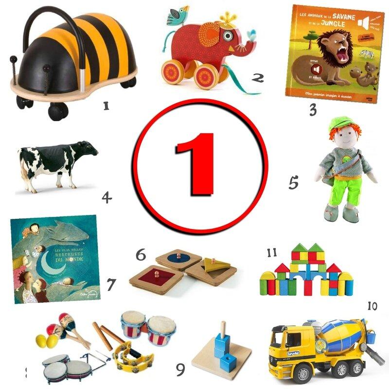 Idee Cadeau 1 An.Idees Cadeaux Pour Un Enfant De 1 An Graine De Crapule