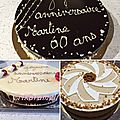 Entremets du weekend