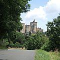 Saint-Front-sur-Lémance, château de Bonaguil, route (47)