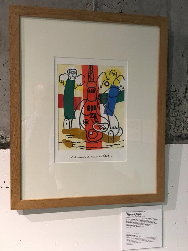François Jouas Poutrel-exposition-Scriptorial-Avranches-printemps-2018-Fernand léger