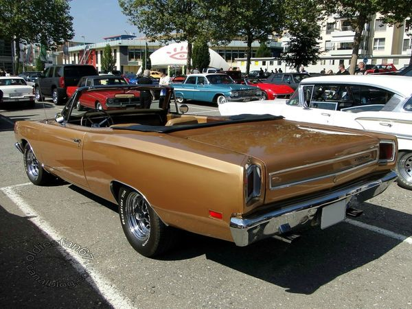 plymouth sport satellite convertible 1969 b
