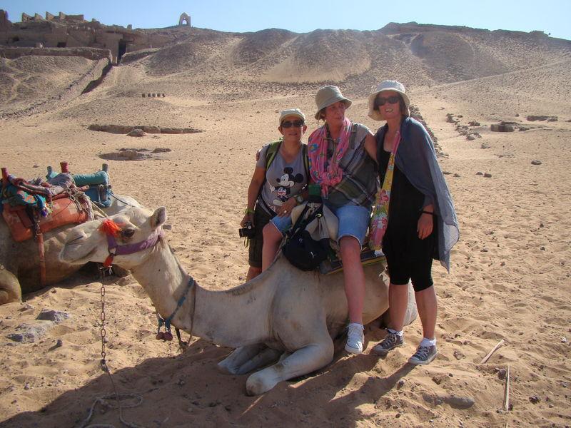 Dans le désert de Nubie
