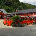 Dans le temple taikodani inari
