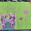 Un tableau pour ella, qui a eu 1 an, la photo