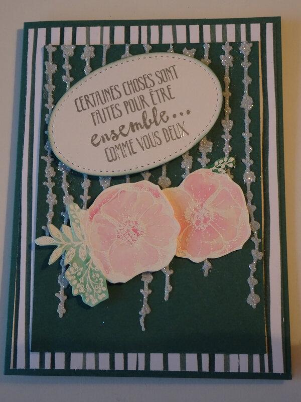 15 Carte Mariage Guirlande et fleurs