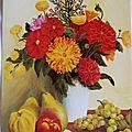 Roselyne Terrade - Fleurs et fruits en harmonie