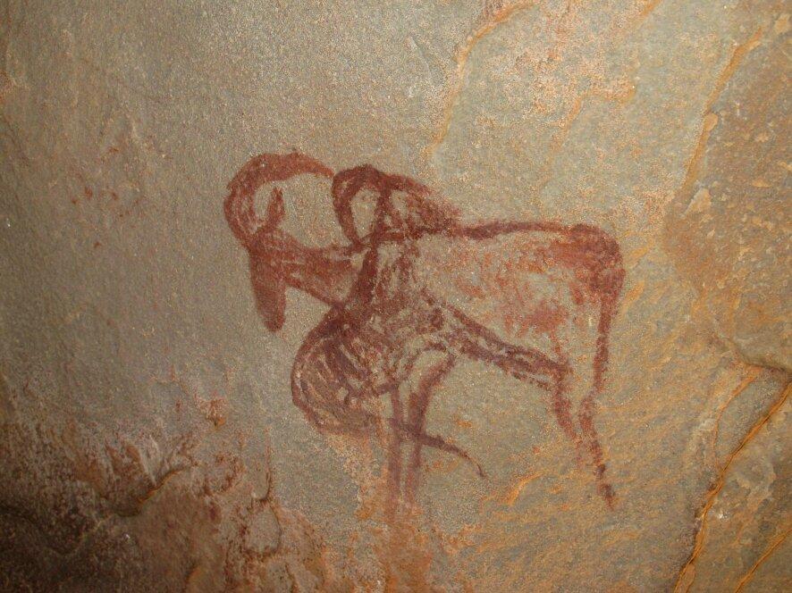 Peintures rupestres de l'Oued Azguer