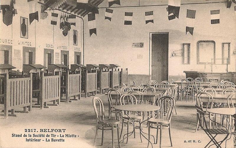 Belfort CPA Le Mont Stand Tir Buvette