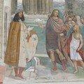 Comment Benoît recolle le plat brisé / autoportrait de Sodoma
