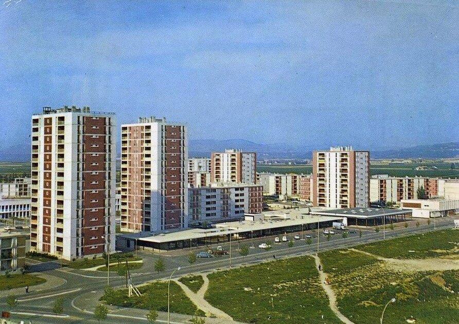 Pierrelatte (Drôme), les nouveaux quartiers