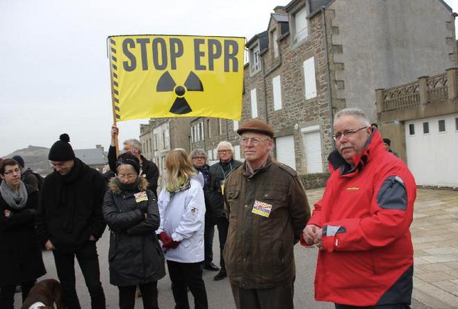 Didier Anger CRILAN Yannick Rousselet Greenpeace France EPR nucléaire