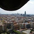 Un dimanche à ... barcelone (jour 3: vue sur la ville depuis la sagrada familia)