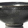 A black-glazed 'oil-spot' bowl, Northern Song-Jin dynasty