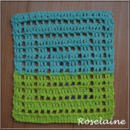 Roselaine 116 granny square