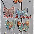 Les papillons terre & scrap