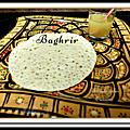 Baghrir : crêpe marocaine aux mille trous