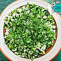 La salade fraicheur { healthy & vegan }