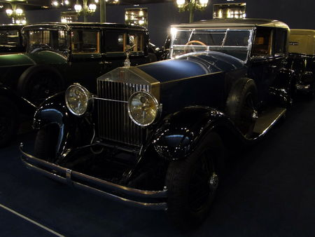 ROLLS ROYCE Berline Phantom I 1928 Musée National de l'Automobile de Mulhouse, collection Schlumpf 2