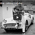 Elle est terrible - johnny hallyday (partition - sheet music)