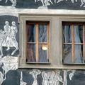 façades peintes.