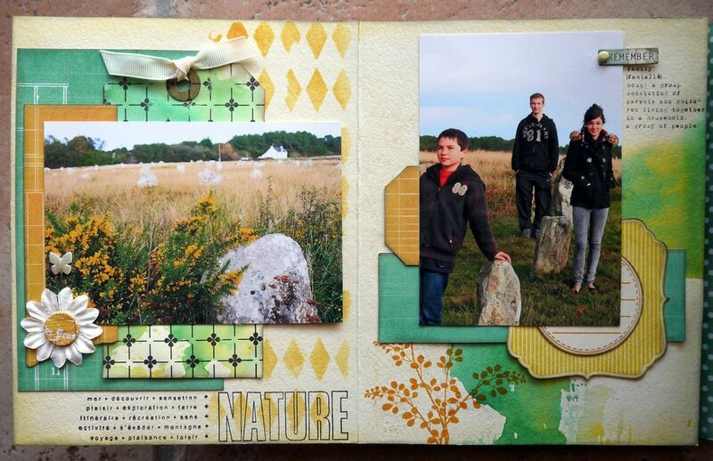 mini album Breizh pages 1 et 2