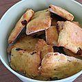 Biscuits raisins cranberries